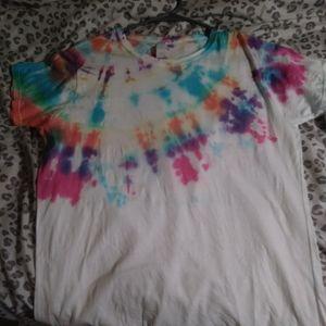 New Custom Tie Dye T Shirt